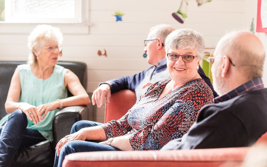 Older people in conversation